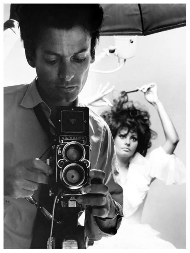 Richard Avedon fotografa Sofia Loren