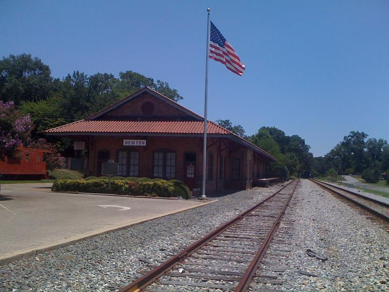 Newton Train Depot