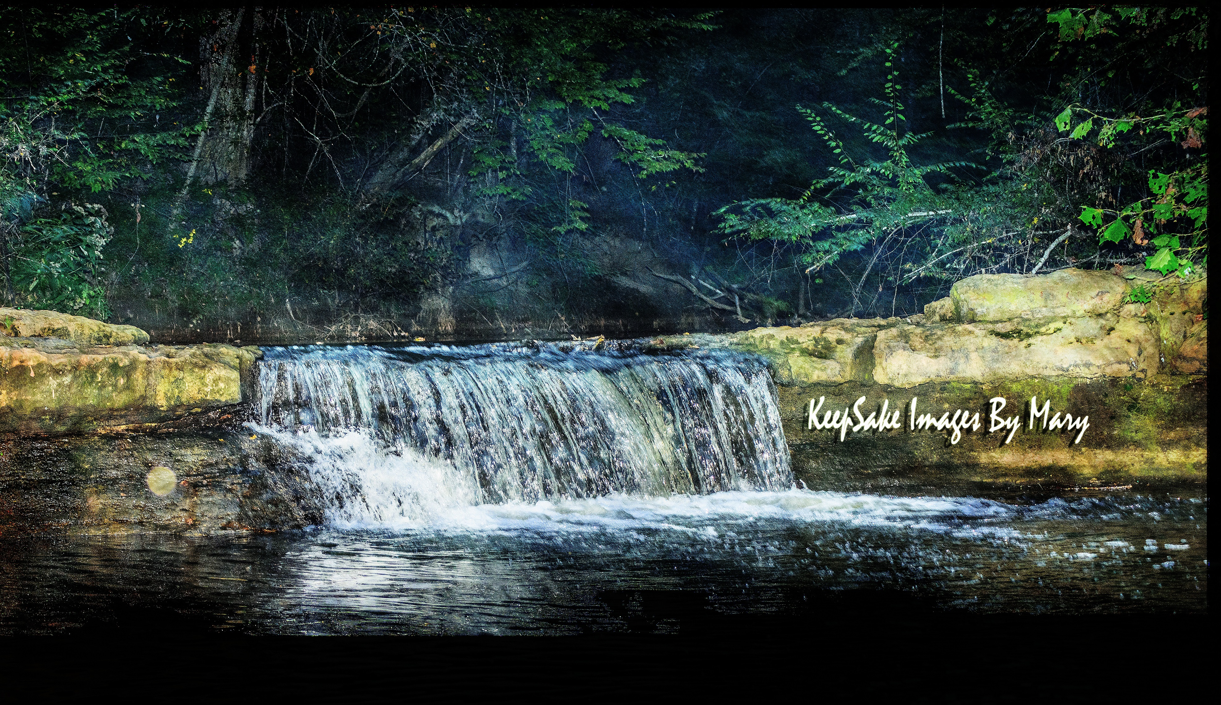 Pierce Waterfall and Cabin