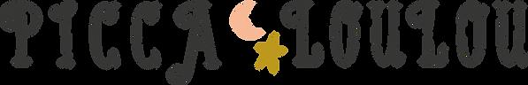 Picca Loulou_logo_2020_thick_donkerekleu