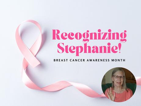 Recognizing Stephanie!