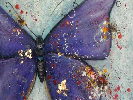 La metamorfosi: da bruco a farfalla.