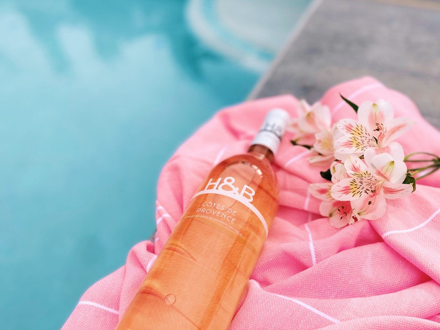 Poolside Rosé   Perfect for Summer