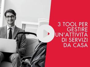 3 tool per gestire in smart working la tua società di servizi