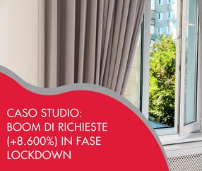 Caso Studio: Boom di Richieste (+8.600%) in Fase Lockdown