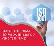 Rilancio del brand: progetto di web marketing per Iso Fai da TE (+665% di vendite in 3 mesi)