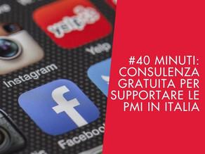 #40 Minuti: La Consulenza Gratuita per Supportare le PMI in Italia