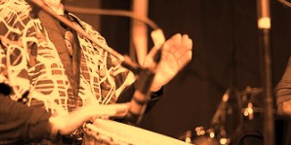 Percussion sur le corps et sur instruments :  Djembé, congas, derbouka, doundoun, à gogo…