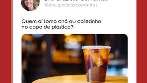 O cafézinho no copo de plástico faz mal?