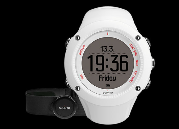 Relógio Suunto Ambit3 Run Monitor GPS White