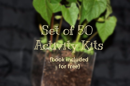 Set of 50 Activity Kits (book included)