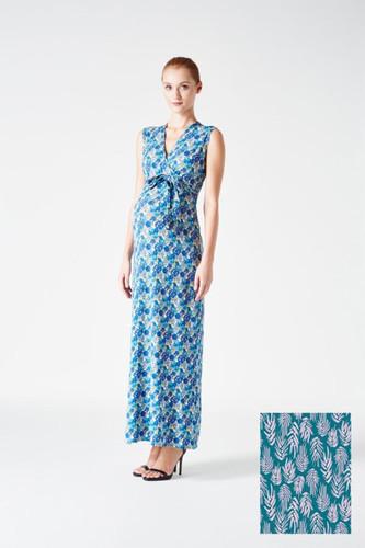 a1e353410b764 Leota Perfect Wrap Sleeveles Maxi | Aloe