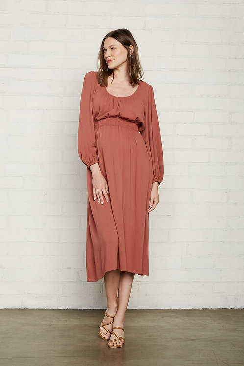 Rachel Pally Pucker Rayon Edith Dress | Rosewood