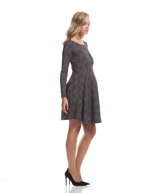 Soon Maternity Willow Flare Dress   Dotti