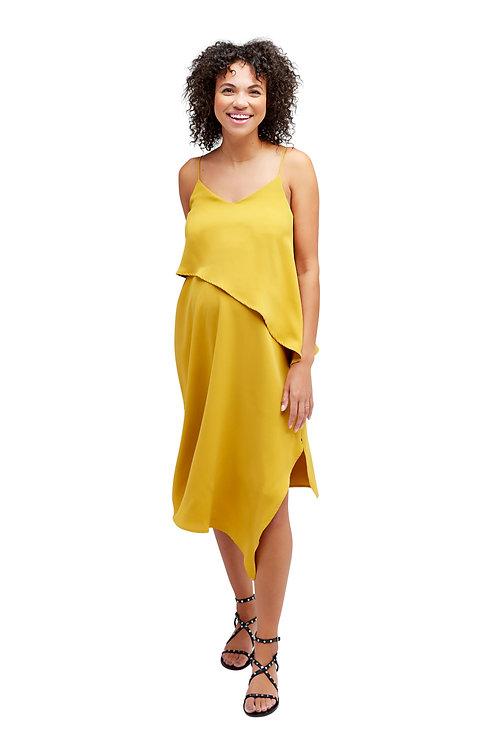 NOM Beatrice Dress   Mustard Yellow