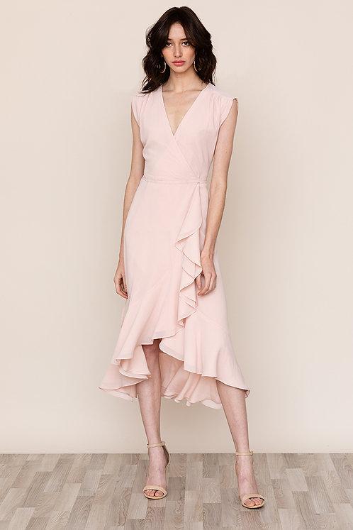 Yumi Kim Santorini Blush Dress full view