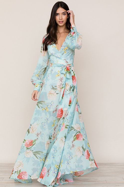 Yumi Kim Giselle Maxi Dress | Forever Yours Jade