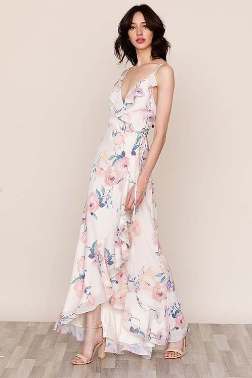 Yumi Kim Meadow Maxi Dress | Dutch Roses Ivory