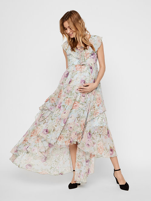 Mamalicious Begonia floral Dress | Multi
