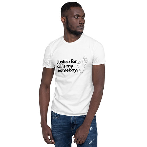 Justice For All Short-Sleeve Unisex T-Shirt