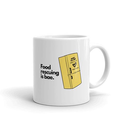 Food Rescuing is Bae Mug