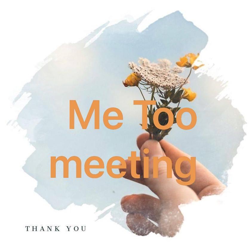 性暴力被害当事者の自助グループ   Me Tooの会