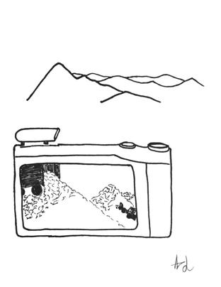 Camera sketch study 1