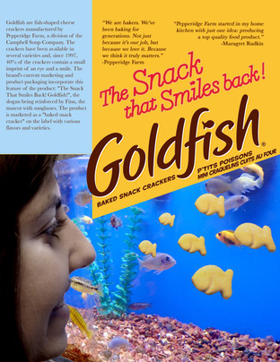 Goldfish Poster: Redesigned