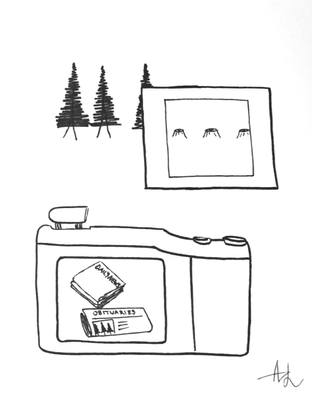 Camera sketch study 7