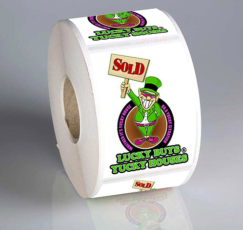 Lucky Roll Label Stickers