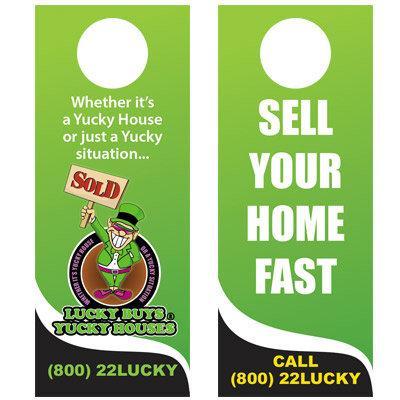 Lucky Door Hangers V01