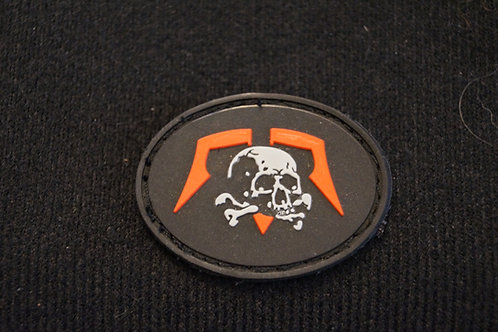 MSATO skull PVC patch