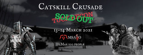 Catskill Crusade Tuck Recon banner Sold