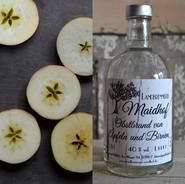 Obstbrand von Äpfeln und Birnen