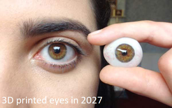 3D printed eyes in 2027