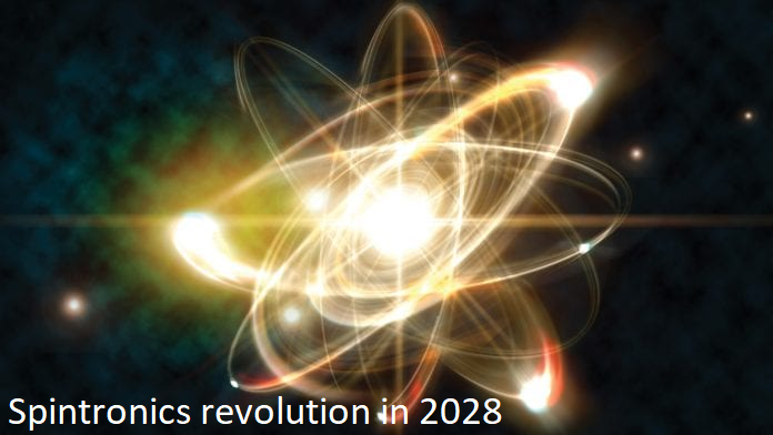 Spintronics revolution in 2028
