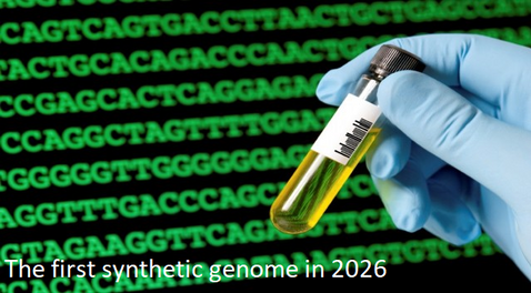 The first synthetic genome in 2026