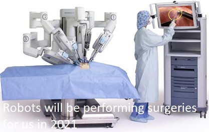Robots will be performing surgeries for us