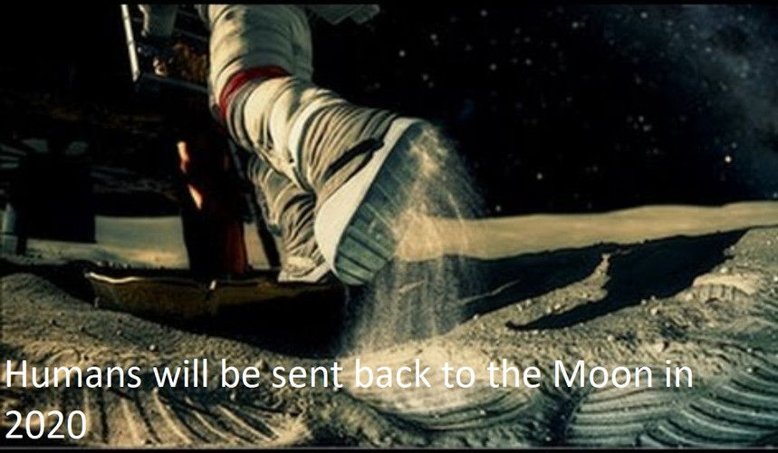 HUMANS BACK TO THE MOON