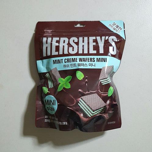[ON-HAND] Hershey's Mint Creme Wafers Mini