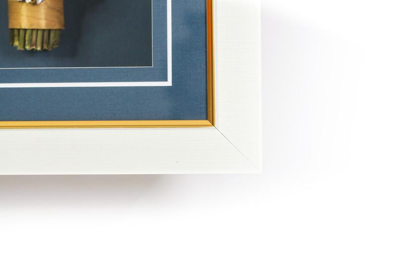 Shadowbox Frame and Matting