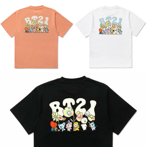 [PRE-ORDER] BT21 Flower T-Shirt