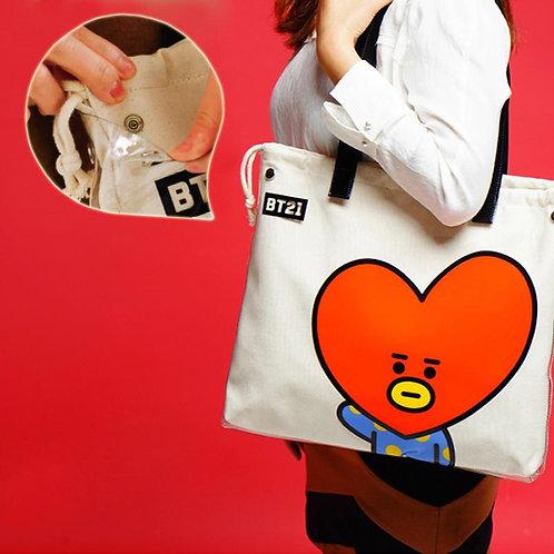 [ON HAND]  BT21 Tata PVC Bag