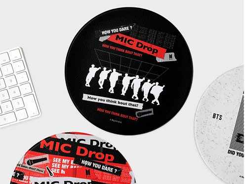 [ON-HAND] BTS Mic Drop Mousepad