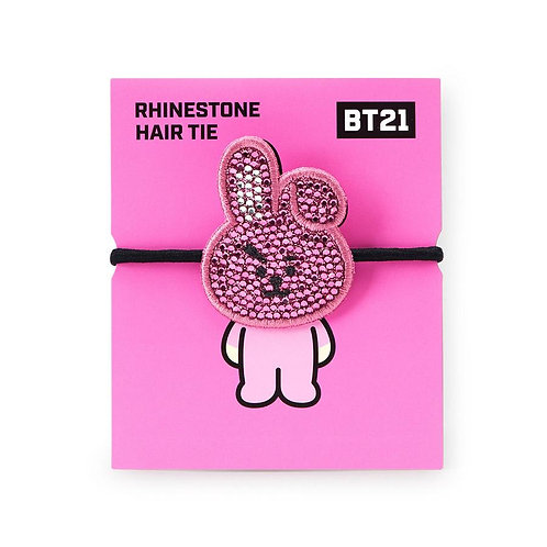 [ON HAND] LIMITED EDITION BT21 Cooky Rhinestone Hair Tie