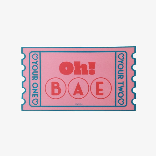 [ON HAND] Boy With Luv Mousepad - Oh Bae