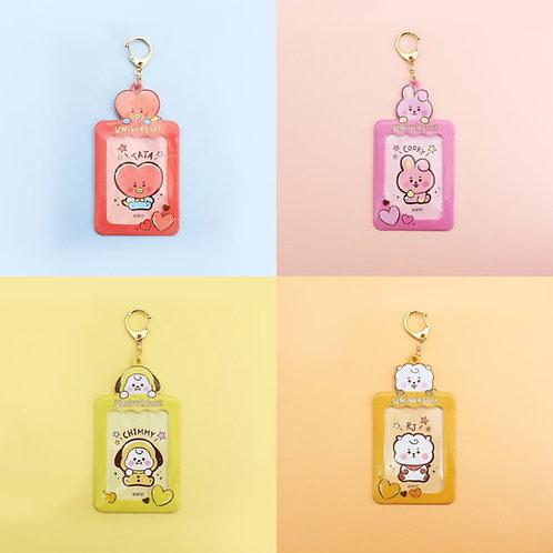 [ON HAND] Japan BT21 Baby Photo Card Holder