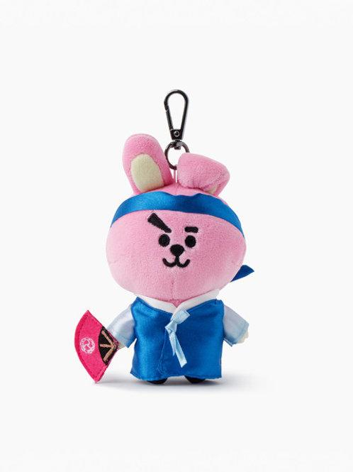 [ON HAND] BT21 Cooky Hanbok Edition Bag Charm Doll