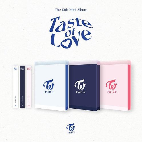 [PRE-ORDER] TWICE  Taste of Love album (Random Ver.)