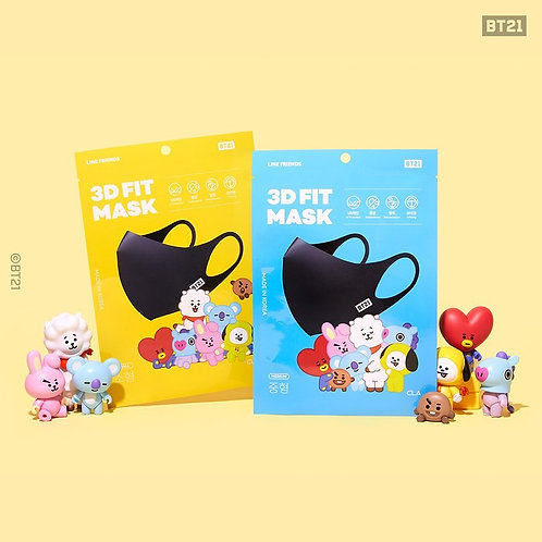 [ON HAND] BT21 3D Fit Mask